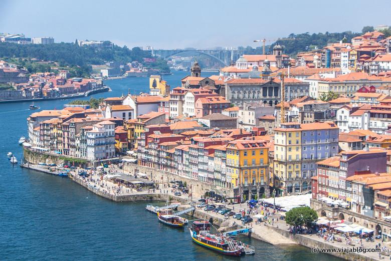 Centro histórico de Oporto, Portugal