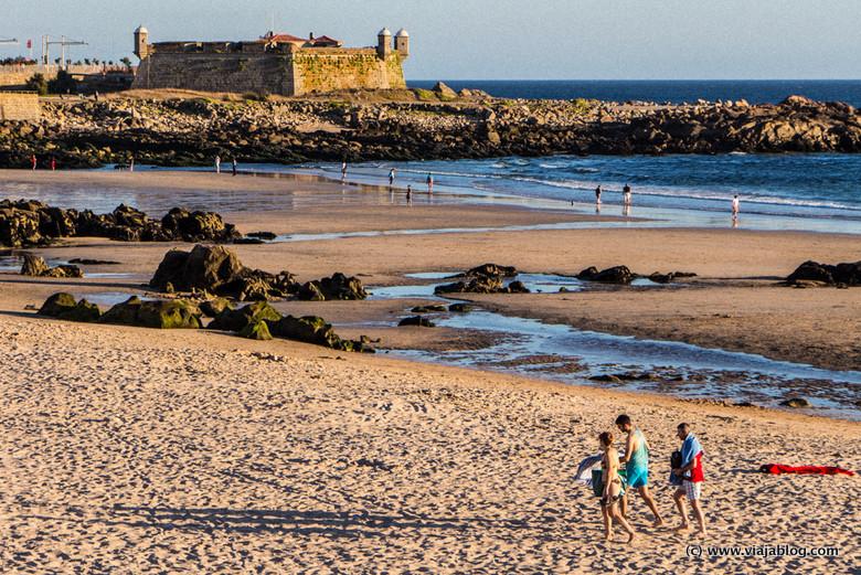 Playa de Matosinhos, Oporto, Portugal