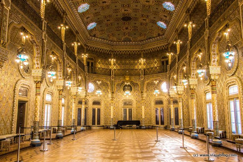 Sala Árabe, Palacio de la Bolsa, Oporto, Portugal