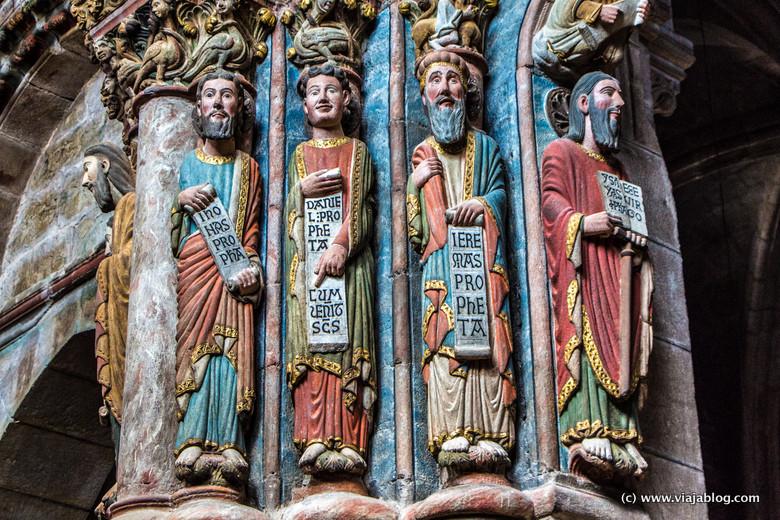 Portico del Paraiso, Catedral de Orense, Galicia