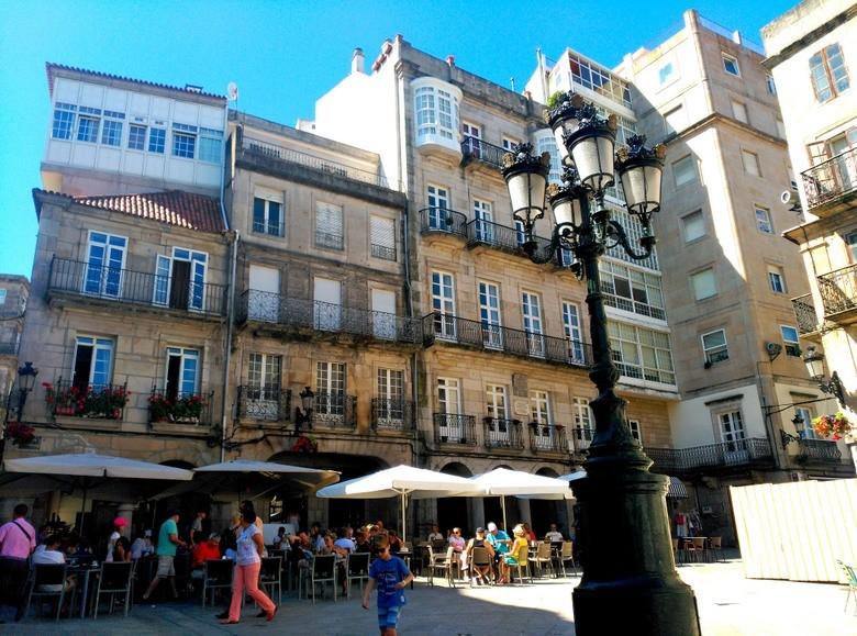 Plaza de la Constitución, Vigo (Galicia)