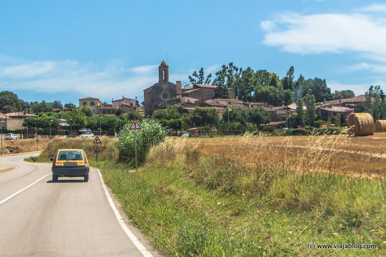Púbol, Gerona, acceso a Museo Castillo Gala Dali