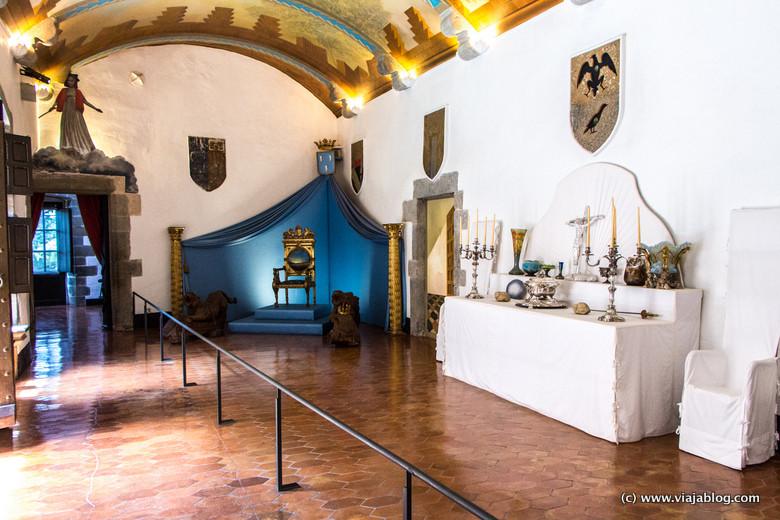 Salón de los Escudos, Museo Castillo Gala Dali, Púbol (Gerona)