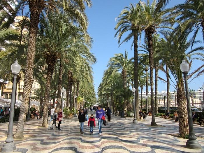 Explanada de España de Alicante