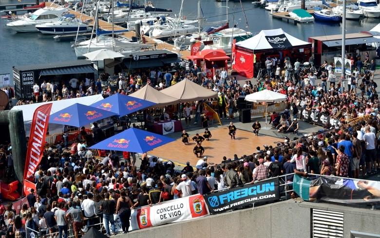 Vistas Hotel Bahia Vigo, Festival O Marisquiño