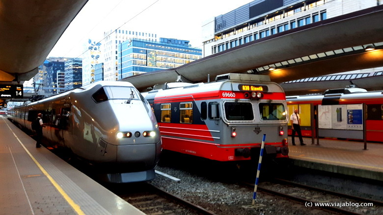 Estación Central de Ferrocarril de Oslo