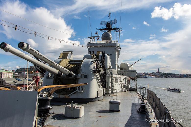 Destructor, HMS Smaland, Museo Maritiman, Gotemburgo, Suecia