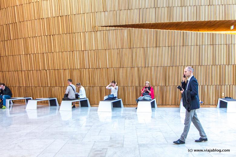 Hall de la Ópera de Oslo, Noruega
