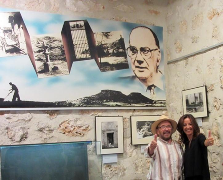 """El gran Jesús Campoamor con Esperanza, del programa """"Castilla La Mancha, ¡me gusta!"""""""