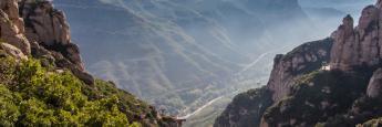 El Aeri (Teleférico) y las privilegiadas vistas desde el Monasterio