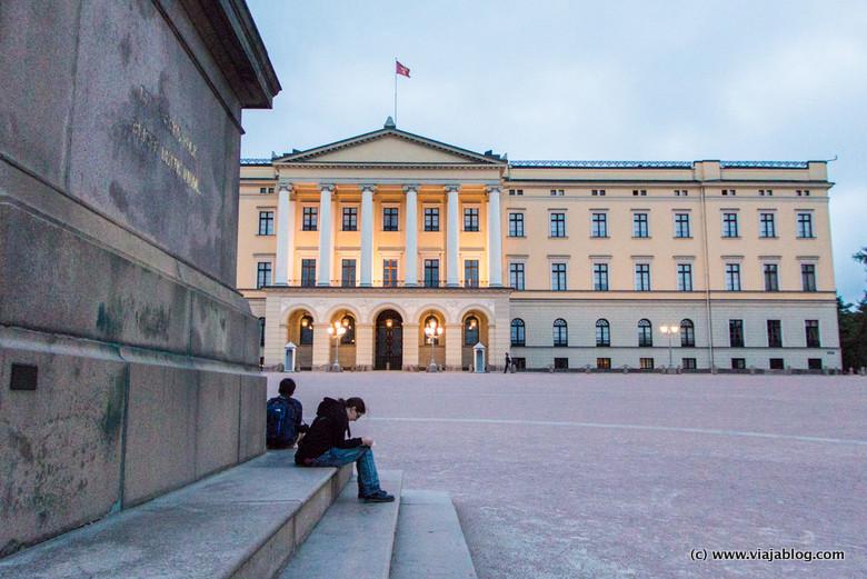 Palacio Real, Oslo, Noruega