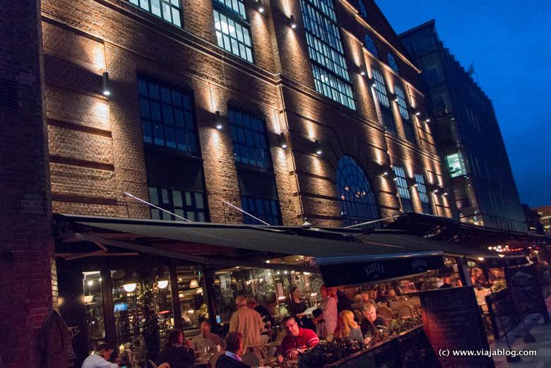 Restaurantes en Aker Brygge, Oslo, Noruega