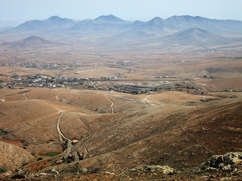 Vistas desde el mirador de Morro Velosa en Betancuria
