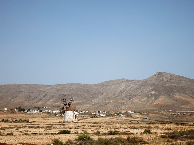 Molinos alrededor de Tefía