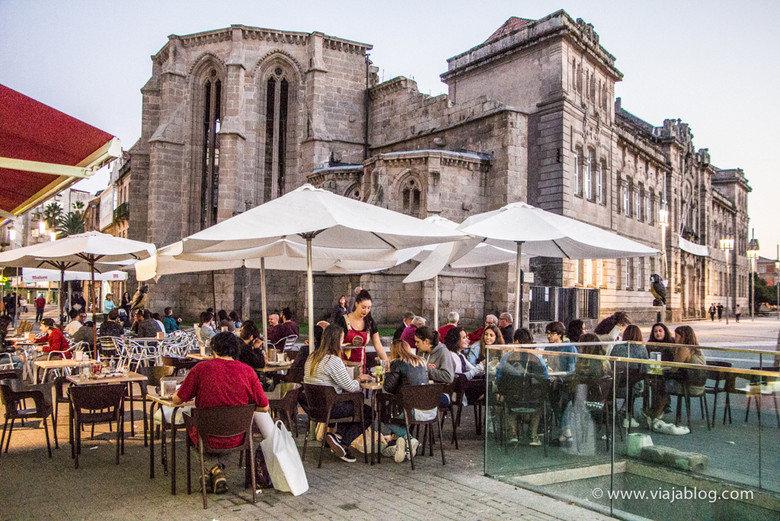 Iglesia de Santo Domingo en Pontevedra