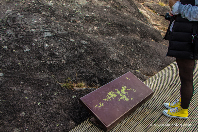 Petroglifo, Parque Arqueológico de Arte Rupestre Campo Lameiro, Terras de Pontevedra, Galicia