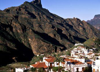 Roque Bentayga, Gran Canaria, desde Tejeda