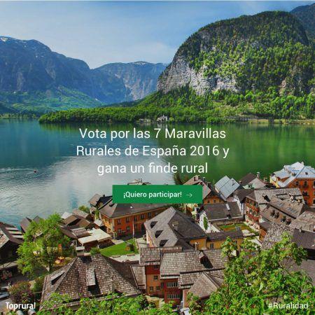 Vota Maravillas Rurales España 2016