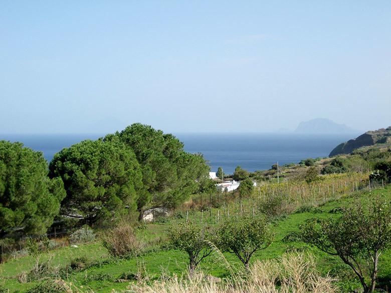 La isla de Alicudi en las Eolias