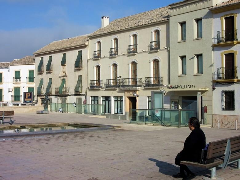 Plaza de la Constitución de Baena