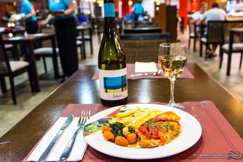 Cena buffet en el Hotel ADH Isla Cristina, Huelva