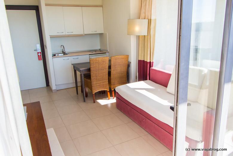 Vista interior, Habitación Hotel ADH Isla Cristina, Huelva