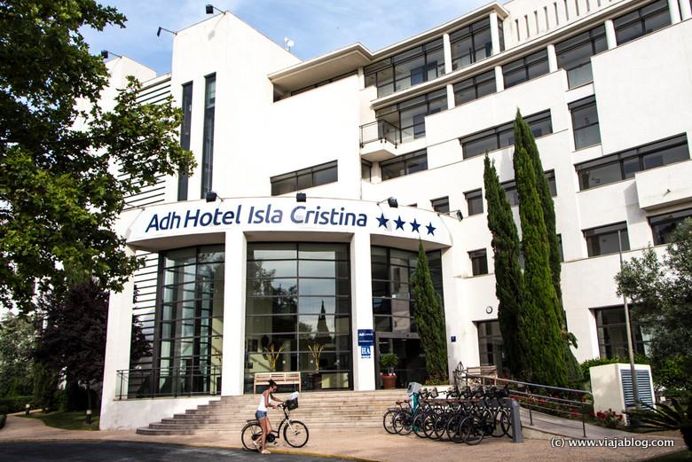 Acceso principal Hotel ADH Isla Cristina, Huelva