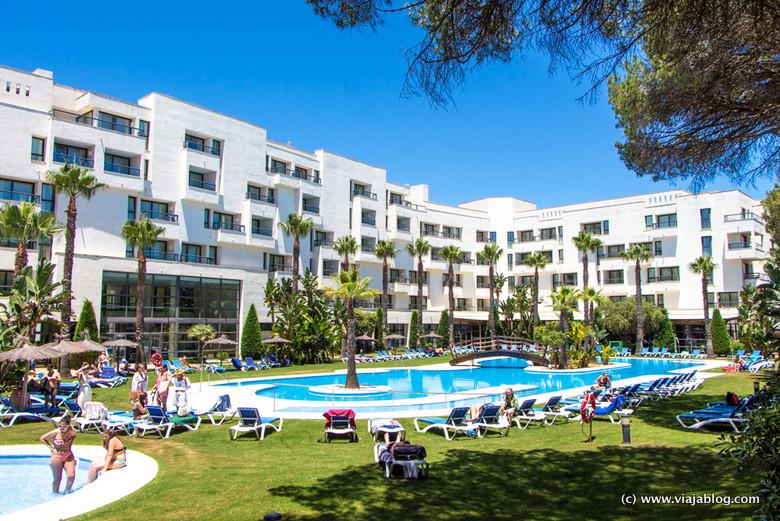 Piscina del Hotel ADH Isla Cristina, Huelva