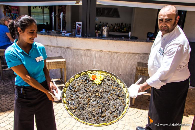 Arroz Negro, Restaurante a la carta, Hotel ADH Isla Cristina, Huelva