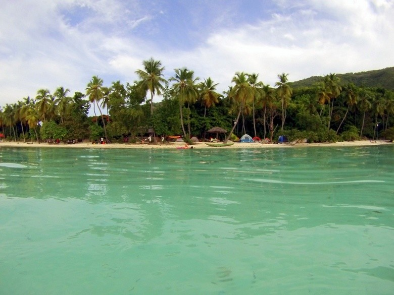 Kokoye Beach, Haiti, desde el mar