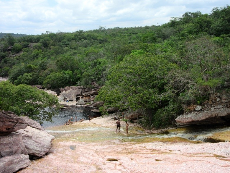 El tobogán de Ribeirão do Meio