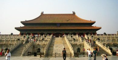 pekin ciudad poblada
