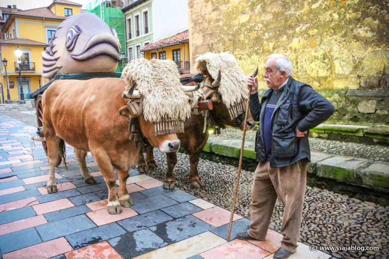 Sardina de Avilés, Carnaval en Asturias