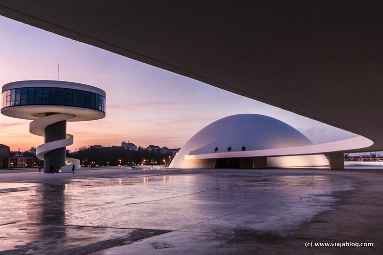 Centro Cultral Internacional Oscar Niemeyer en Avilés (Asturias)