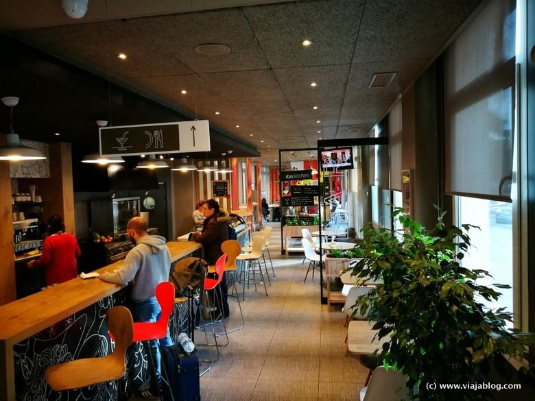Cafetería Hotel Ibis Sevilla