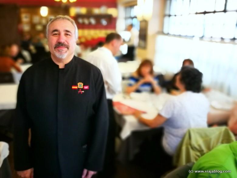 Jacinto Centeno del Restaurante El Astorgano, Madrid