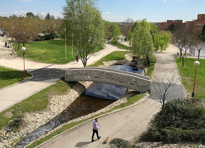 Puente Impreso en 3D, Alcobendas (Madrid)