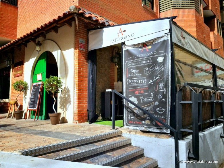 Exterior del Restaurante El Astorgano, Madrid