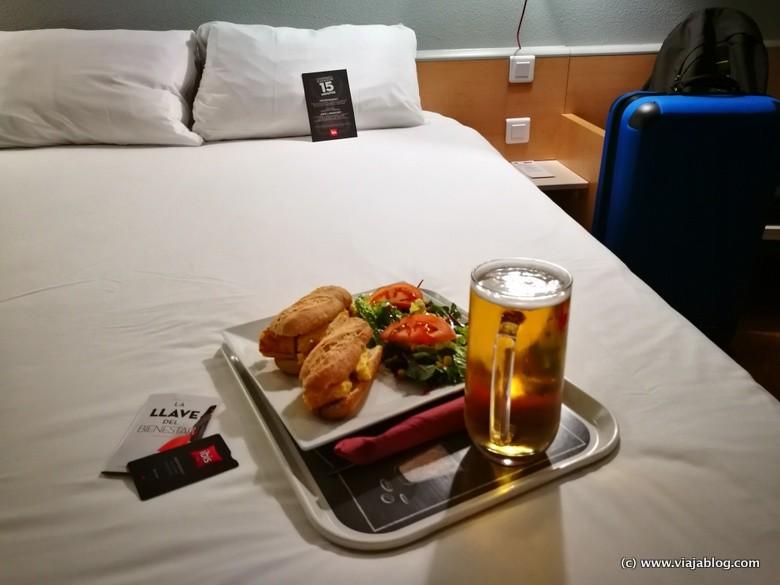 Servicio Snack 24h Hotel Ibis Sevilla