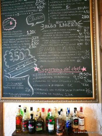 Sugerencias de la casa, Restaurante El Astorgano, Madrid