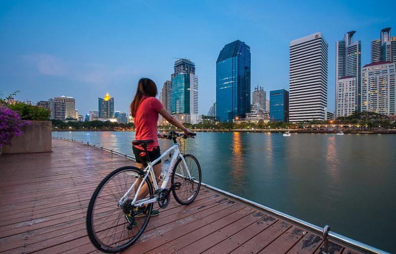 Bangkok en Bicicleta