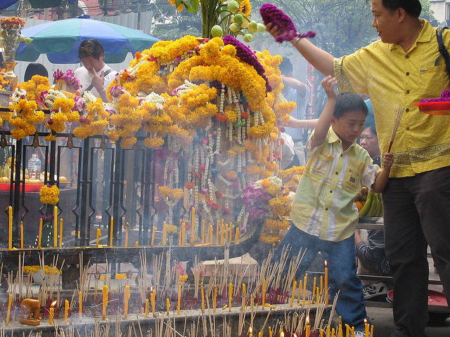 Templo de Erawan, Bangkok