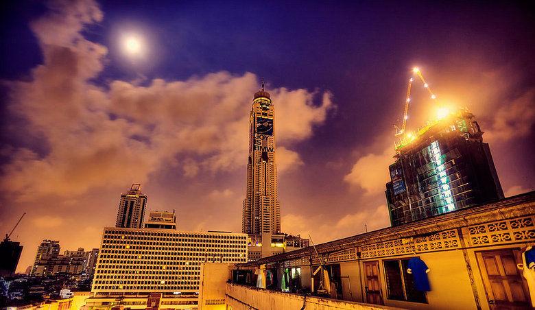 Torre Baiyoke, Bangkok, Tailandia