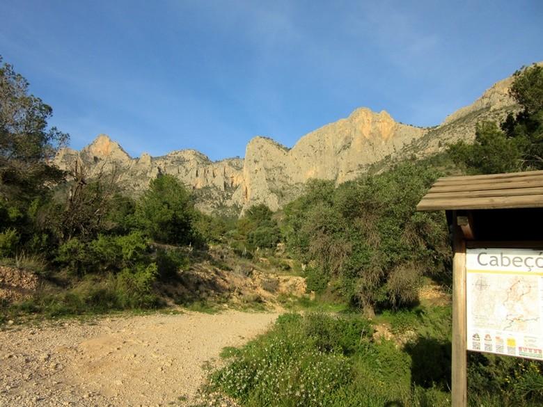 Alicante montaña Cabeçó d'Or