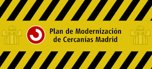 Alteración servicio cercanías Madrid