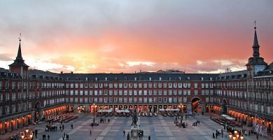 Puesta de Sol, Plaza Mayor de Madrid