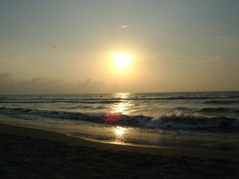 la playla de Cartagena de Indias