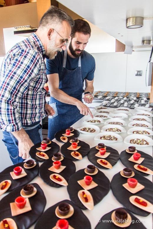 Carlos y Carlos, Restaurante Los Llaureles