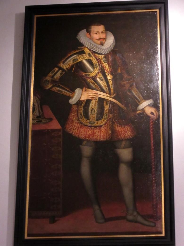 Cuadro del Duque de Lerma en la Colegiata de Lerma