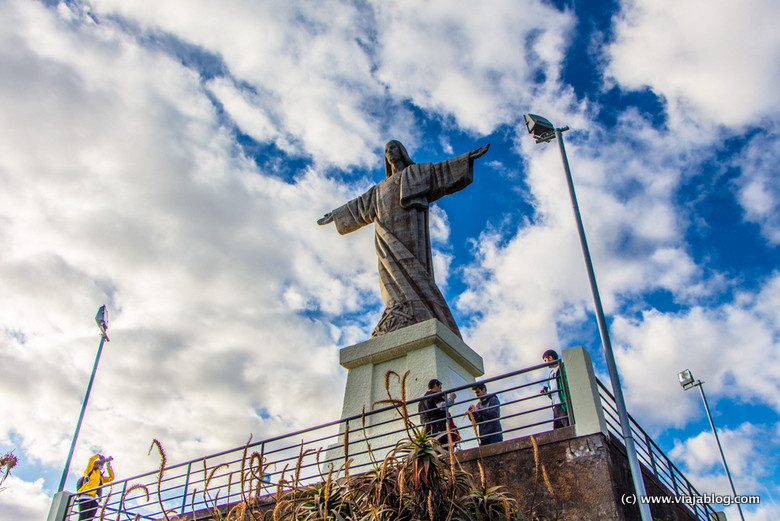Estatua Cristo, Isla de Madeira